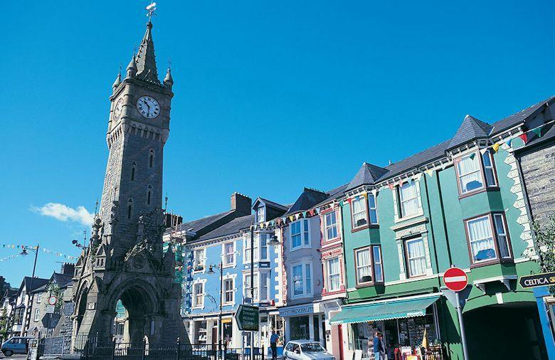 Machynlleth -  local town has a thriving market day every wednesday.