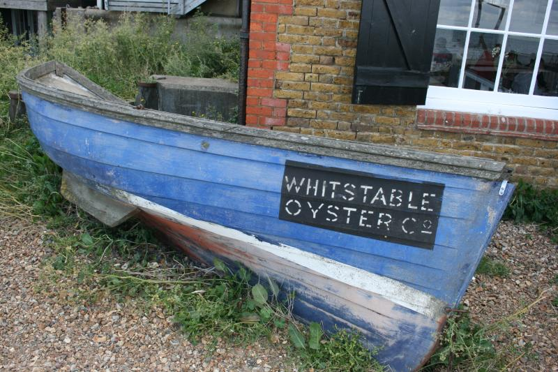 Sample the fresh local oysters along the Whitstable beach
