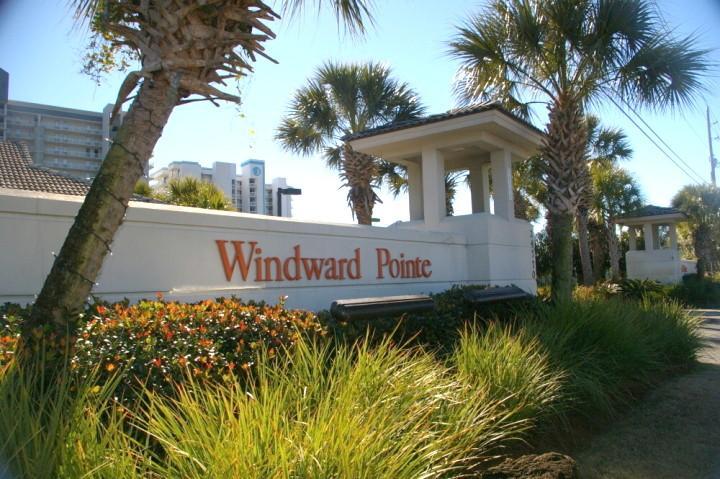 El infame Windward Pointe situado en el corazón de Orange Beach, AL