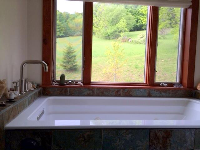 master bath jacuzzi tub for two with view