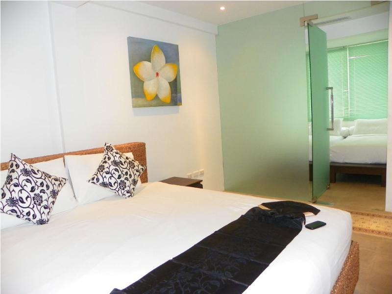 Main Bedroom, with second bedroom off this ideal for children