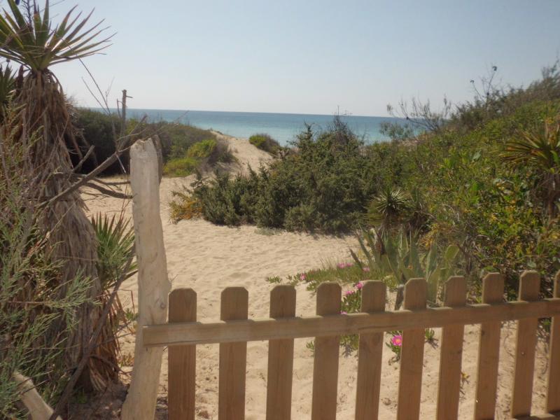 ingresso privato in spiaggia
