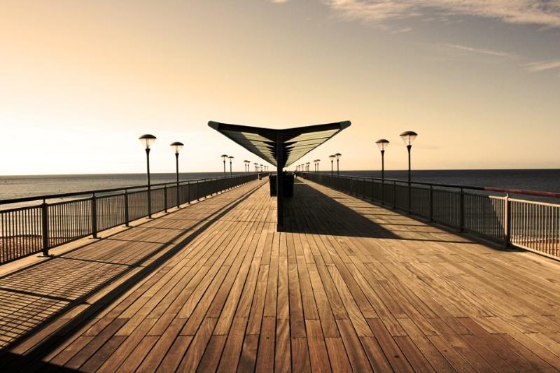 Our beautiful photogenic pier just a short walk away