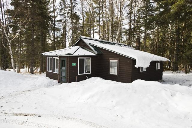 Camp på vintern