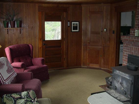 Living room Winter camp