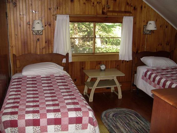 Second floor twin bedroom Summer Camp