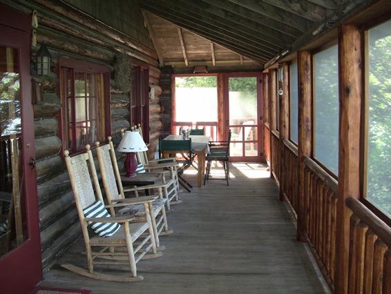 Screen porch Summer Camp