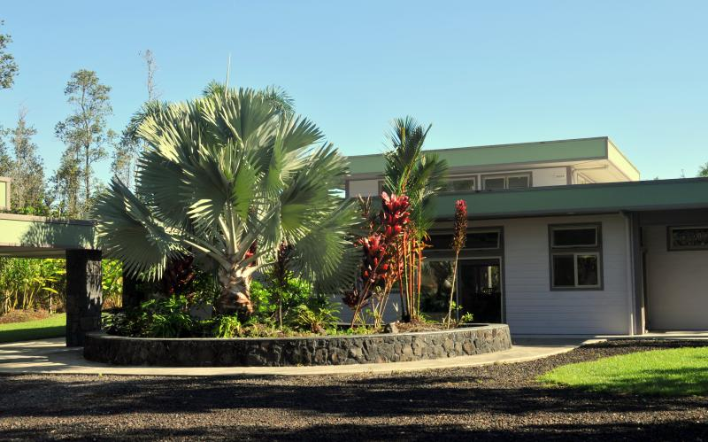 Front of the Main house at Hale E Komo Mai