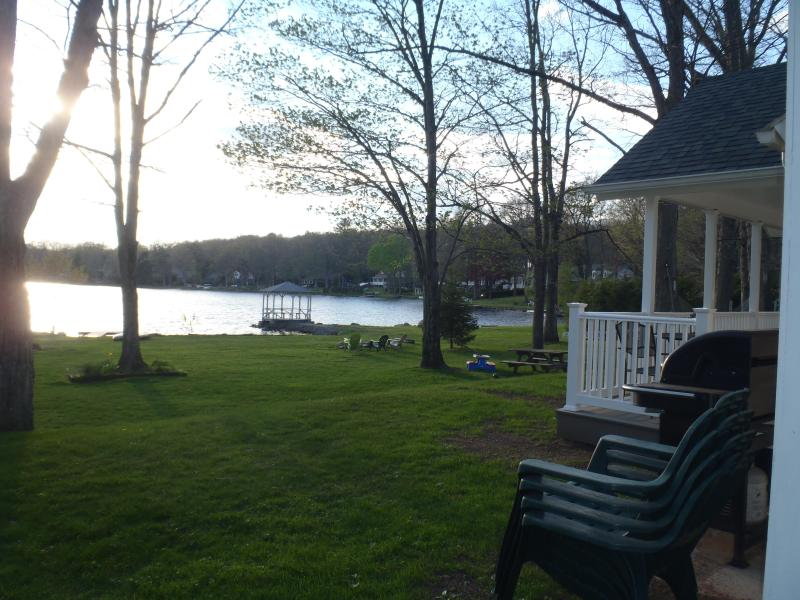 View from the home to the lake