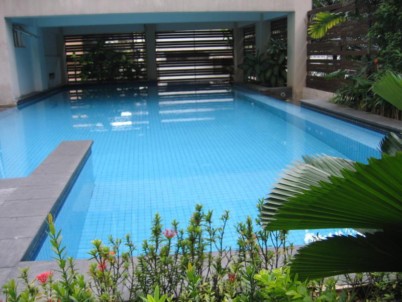A decent outdoor pool