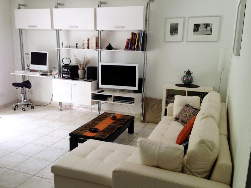A lovely apartment set in a large olive grove, 15mn to town center by tramway, aluguéis de temporada em Montpellier