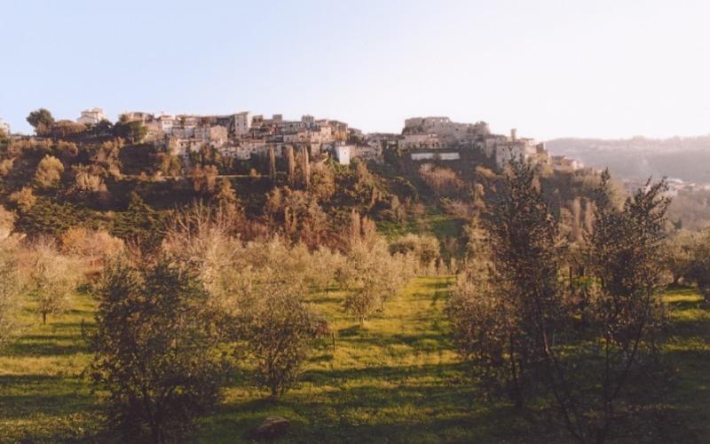 Appartamento in borgo storico, holiday rental in Pescorocchiano