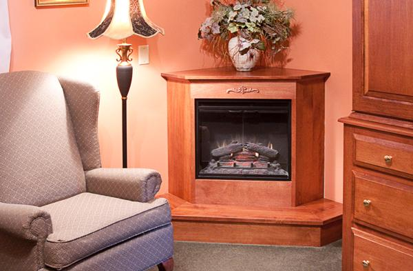 Deluxe Rooms Feature Fireplace