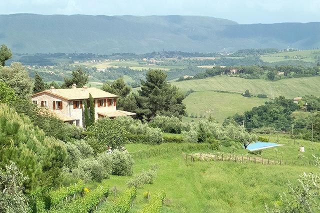 Villa Gelsomini Grande in its beautiful setting