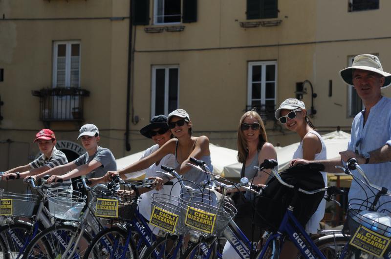 Ciclismo en Lucca