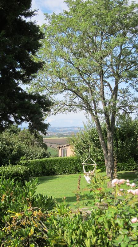 View from the terras of Gîte Limoux