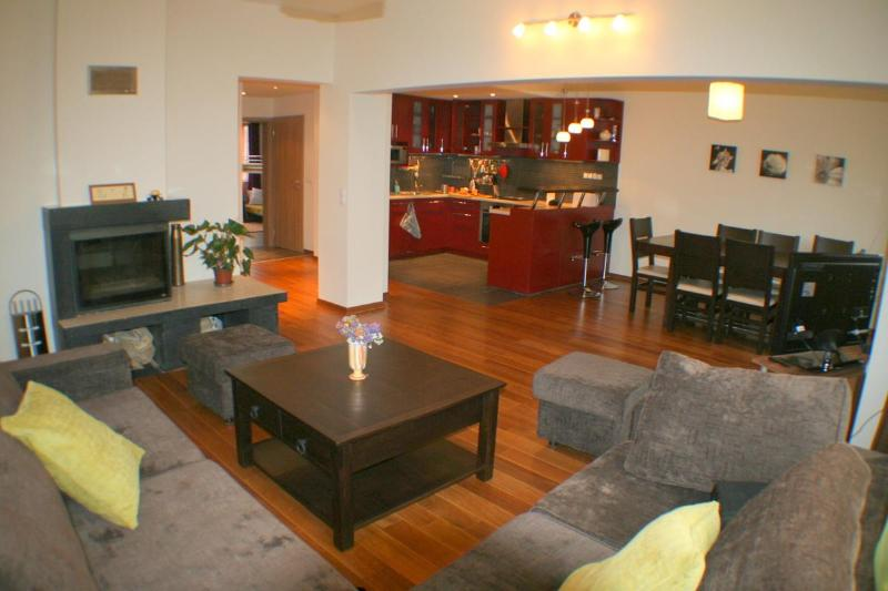 Big confortable and friendly living and dining room
