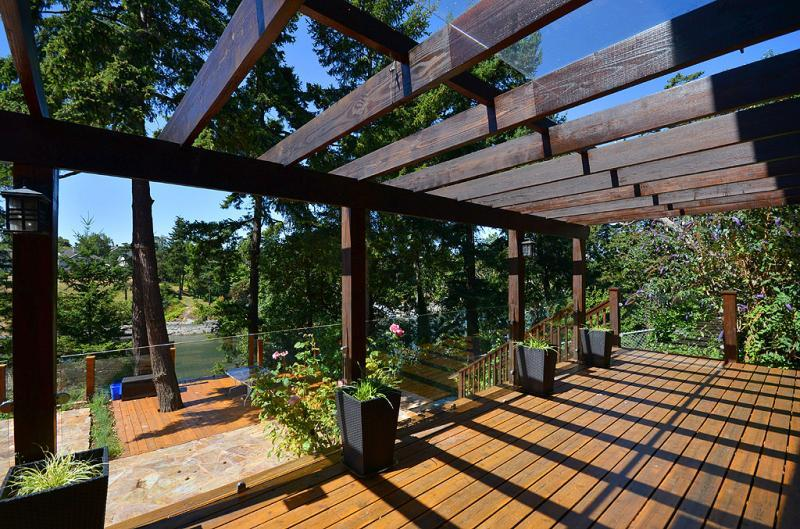 Deck off the master suite