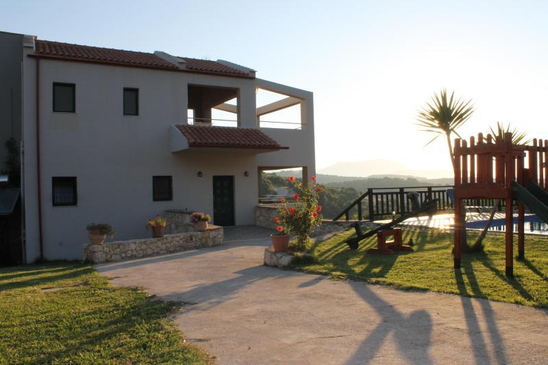 Villas Ifigenia outside area