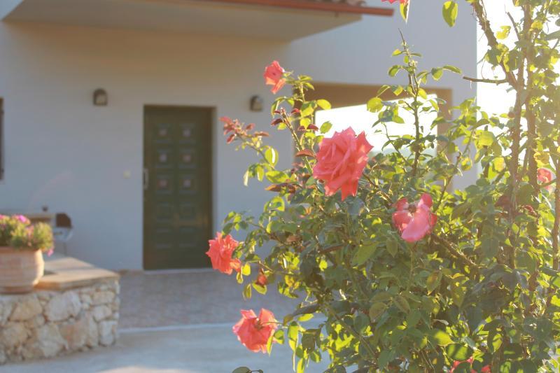Villas Ifigenia main entrance