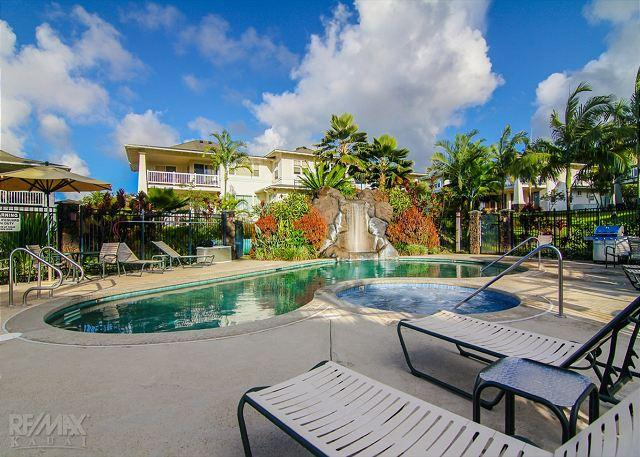 Top Floor 3 Bdrm Plantation at Princeville Condo with A/C, vacation rental in Princeville