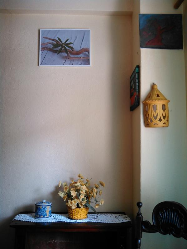 Promenor do quarto pequeno