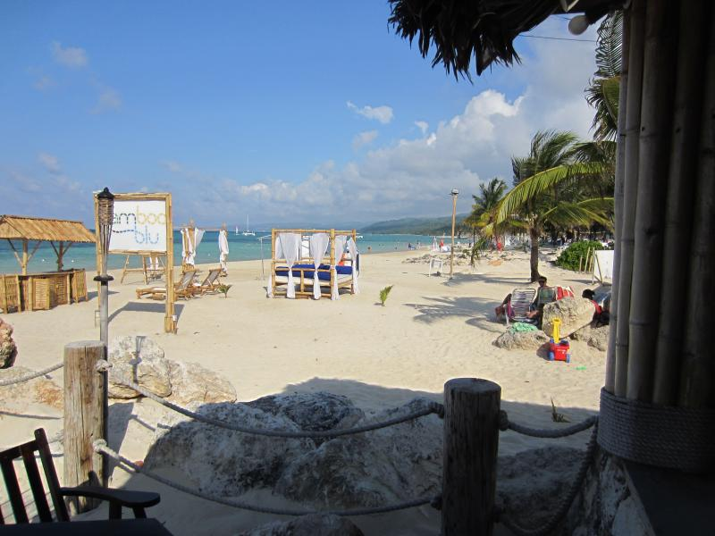 Beach from Bamboo Blu