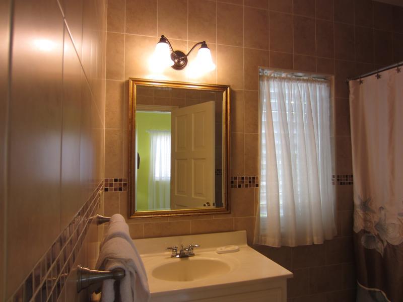 Sanora's  bathroom