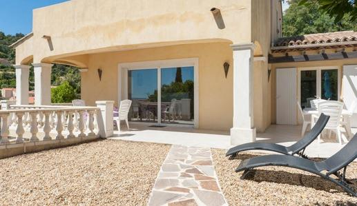 Fully equipped villa St Tropez gulf - Sea View