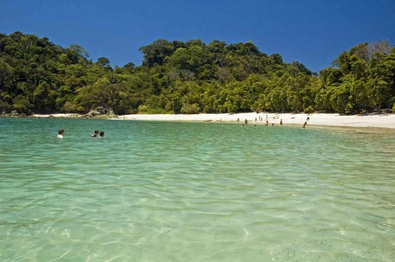 Manuel Antonio National Park, just down the beach