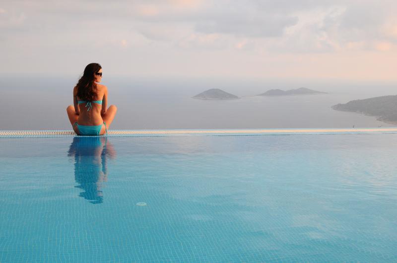 Breathtaking view of Mediterranean