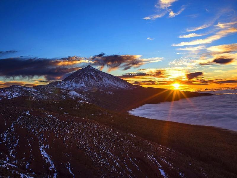 Teide Snowy