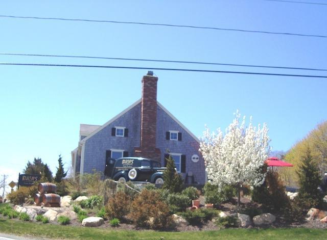 Buca's Restaurant en hot dog stand aan het eind van Uncle Venies Road - South Harwich Cape Cod New England vakantie