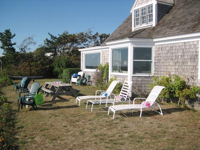 Classic bluff house. Front yard faces the waterfront - 30 Seabeach Road Chatham Cape Cod New England Vacation Rentals