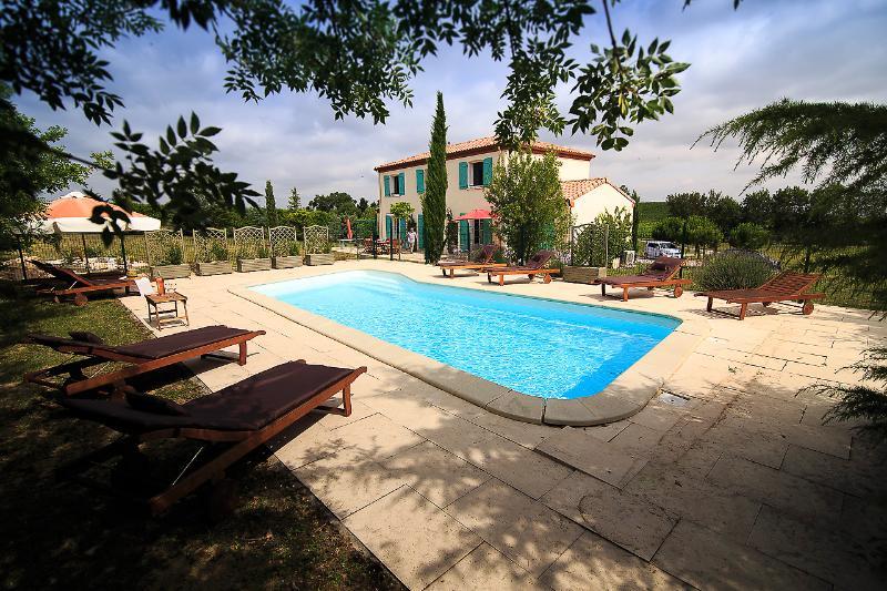 Villa Bellegarde, location de vacances à Lasserre-de-Prouille