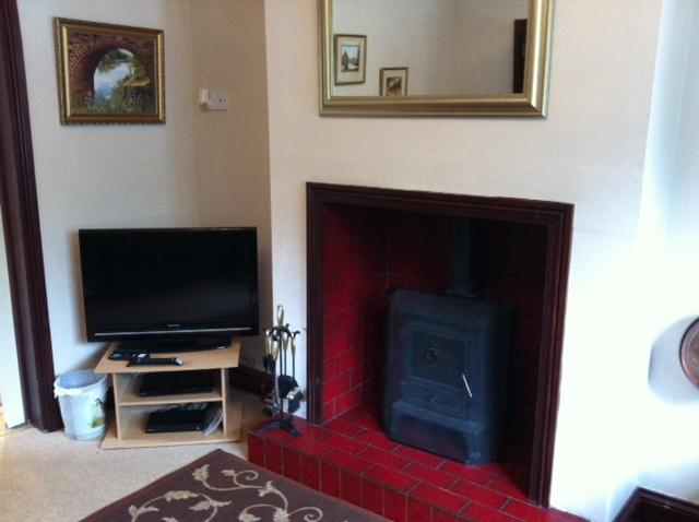 wood burner, tv with free view, also free WiFi available