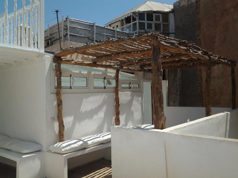 Terrasse 3ème étage Riad DAR BÔ