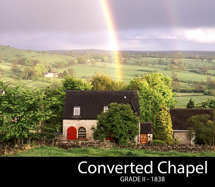Chapel House, holiday rental in Carsington
