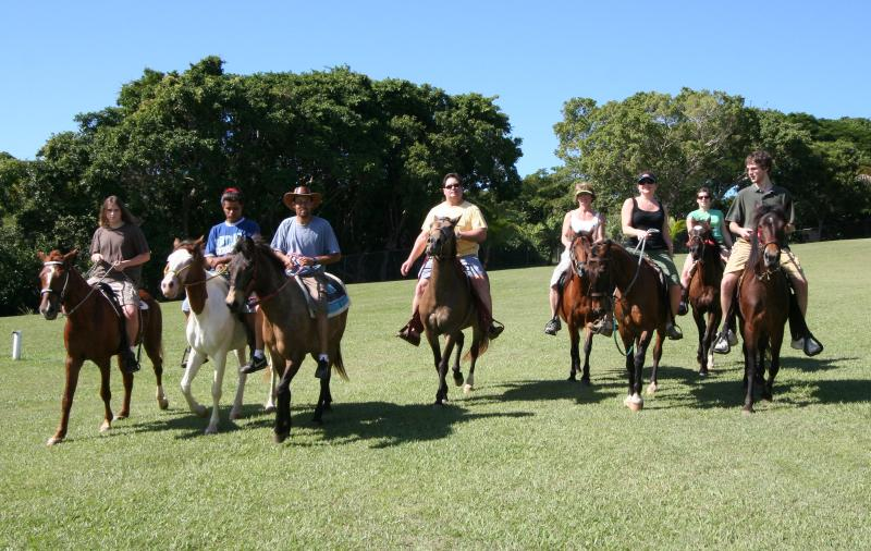 Granata Family Ride West grounds