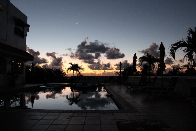 Sunset at Poolside
