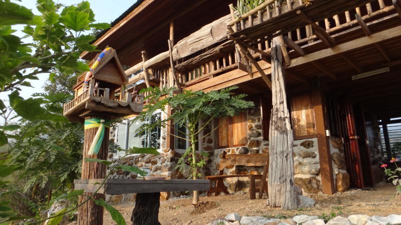 A spirit house assures a good stay.