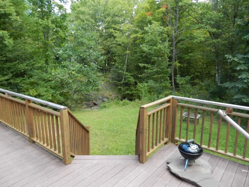 View off the Back Deck. Total Privacy.