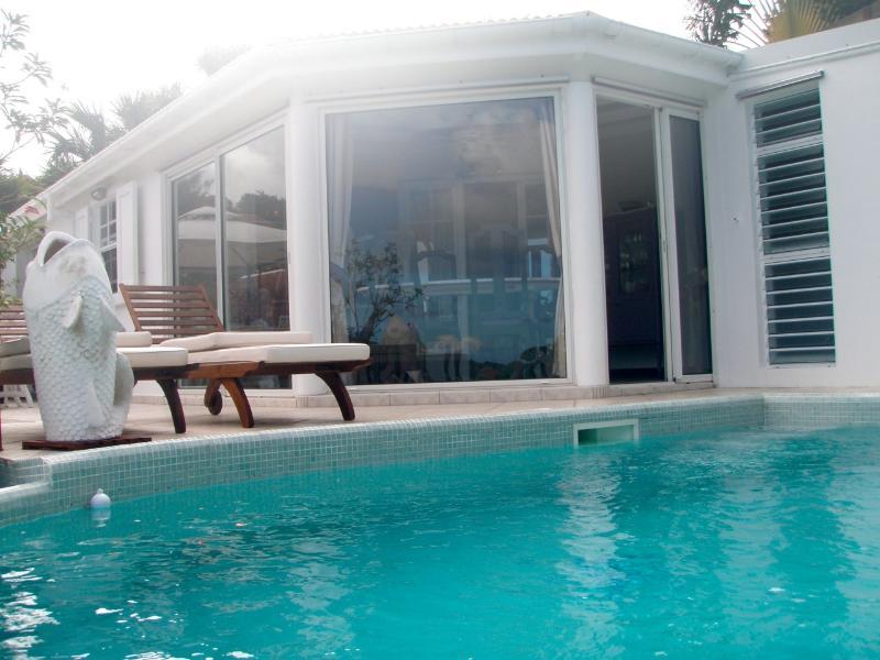 piscine devant séjour