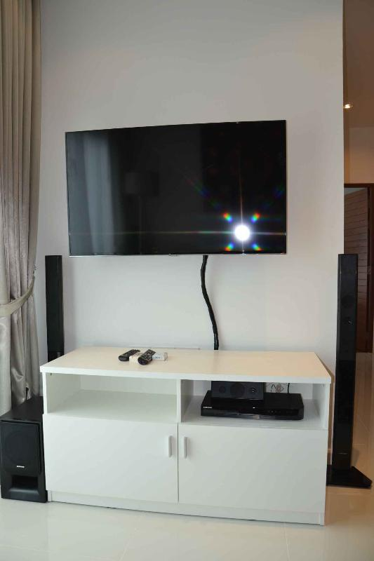 48' Wall mounted LED TV incl. 3D Blueray/DVD Home Theatre with USB Connection