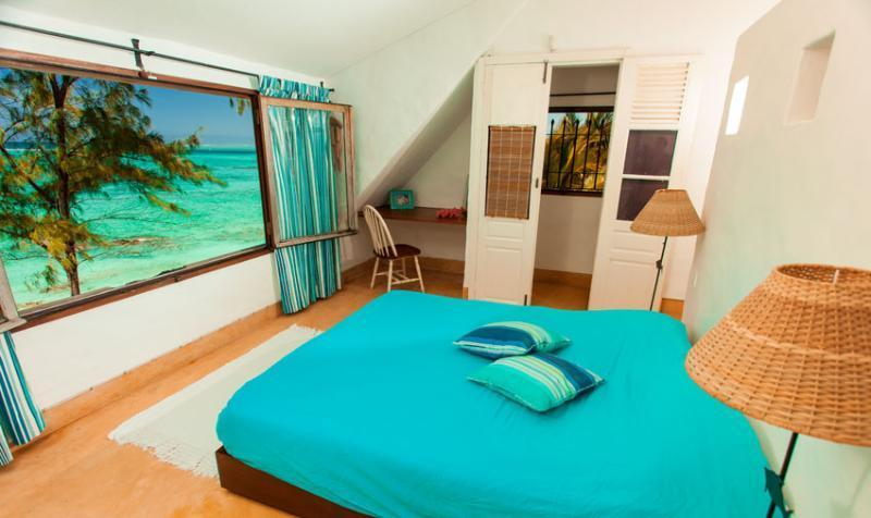 bedroom with great Seaview