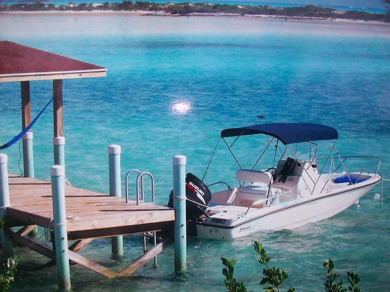 One of our rental boat