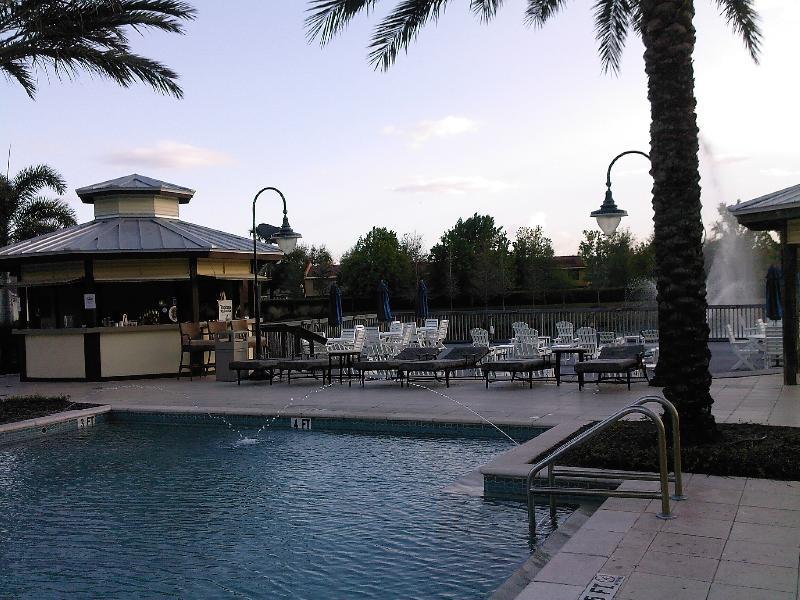Pool & Lagoon with fountain