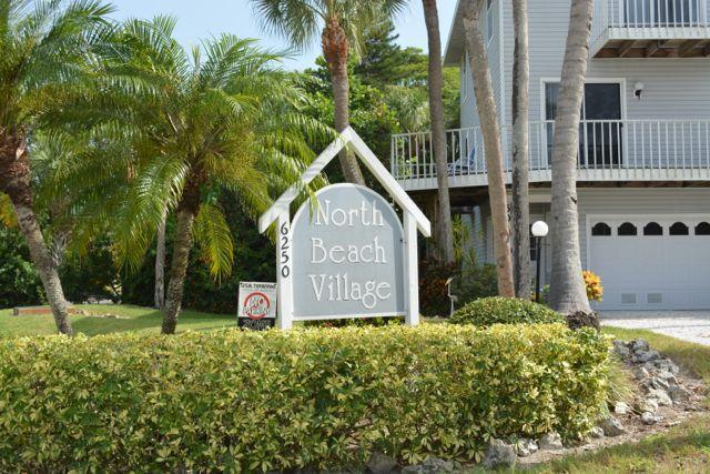 North Beach Village entrance