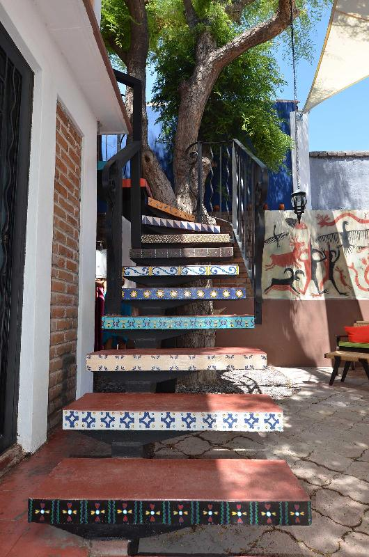 Stairs to the casita bedroom