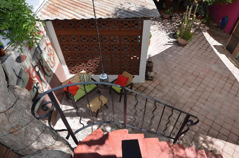 Casita patio in garden